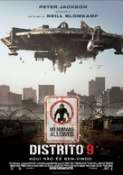 District 9 - Portuguese Movie Poster (xs thumbnail)
