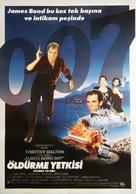 Licence To Kill - Turkish Movie Poster (xs thumbnail)