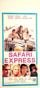 Safari Express - Italian Movie Poster (xs thumbnail)