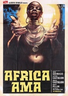 Africa ama - Italian Movie Poster (xs thumbnail)