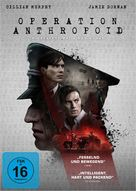 Anthropoid - German DVD movie cover (xs thumbnail)