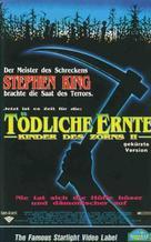Children of the Corn II: The Final Sacrifice - German VHS cover (xs thumbnail)