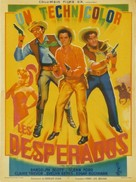 The Desperadoes - French Movie Poster (xs thumbnail)