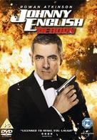 Johnny English Reborn - British DVD cover (xs thumbnail)