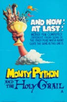 Monty Python and the Holy Grail - British Movie Poster (xs thumbnail)