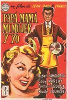 Papa, maman, ma femme et moi... - Spanish Movie Poster (xs thumbnail)