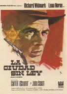 Death of a Gunfighter - Spanish Movie Poster (xs thumbnail)