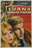 Luana la figlia delle foresta vergine - Argentinian Movie Poster (xs thumbnail)