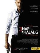 Three Days to Kill - Hungarian Movie Poster (xs thumbnail)