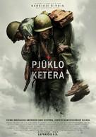 Hacksaw Ridge - Lithuanian Movie Poster (xs thumbnail)