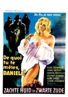 Zarte Haut in schwarzer Seide - Belgian Movie Poster (xs thumbnail)