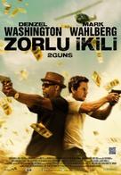 2 Guns - Turkish Movie Poster (xs thumbnail)