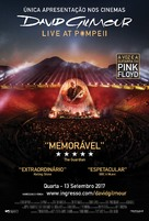 David Gilmour Live at Pompeii - Portuguese Movie Poster (xs thumbnail)