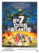 Warlords of Atlantis - French Movie Poster (xs thumbnail)