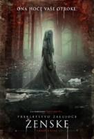 The Curse of La Llorona - Slovenian Movie Poster (xs thumbnail)