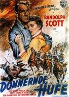 Thunder Over the Plains - German Movie Poster (xs thumbnail)