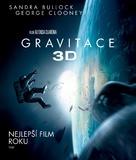 Gravity - Czech Blu-Ray movie cover (xs thumbnail)