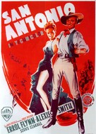 San Antonio - German Movie Poster (xs thumbnail)