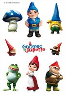 Gnomeo & Juliet - French Movie Poster (xs thumbnail)