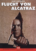 Escape From Alcatraz - German DVD cover (xs thumbnail)