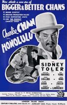 Charlie Chan in Honolulu - British Movie Poster (xs thumbnail)
