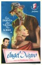 Black Angel - Spanish Movie Poster (xs thumbnail)