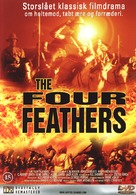 The Four Feathers - Danish DVD cover (xs thumbnail)