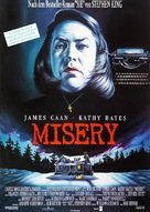 Misery - German Movie Poster (xs thumbnail)