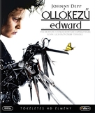 Edward Scissorhands - Hungarian Blu-Ray movie cover (xs thumbnail)