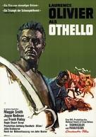 Othello - German Movie Poster (xs thumbnail)
