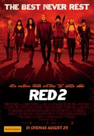 RED 2 - Australian Movie Poster (xs thumbnail)