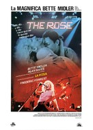 The Rose - Spanish Movie Poster (xs thumbnail)