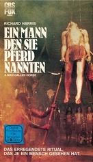 A Man Called Horse - German VHS movie cover (xs thumbnail)