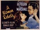 A Woman Rebels - Movie Poster (xs thumbnail)