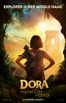 Dora and the Lost City of Gold - Canadian Movie Poster (xs thumbnail)