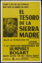 The Treasure of the Sierra Madre - Spanish Re-release poster (xs thumbnail)
