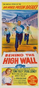 Behind the High Wall - Australian Movie Poster (xs thumbnail)
