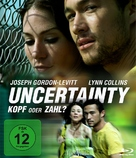 Uncertainty - German Blu-Ray cover (xs thumbnail)