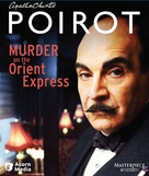 """Agatha Christie's Poirot"" Murder on the Orient Express - Blu-Ray movie cover (xs thumbnail)"