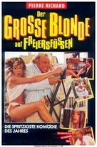 Le grand blond avec une chaussure noire - German Movie Poster (xs thumbnail)