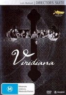 Viridiana - Australian DVD cover (xs thumbnail)