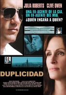 Duplicity - Colombian Movie Poster (xs thumbnail)