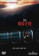 Red Eye - German DVD movie cover (xs thumbnail)