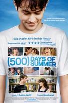 (500) Days of Summer - Swedish Movie Poster (xs thumbnail)