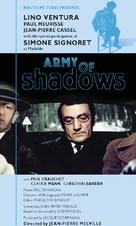 L'armée des ombres - VHS movie cover (xs thumbnail)