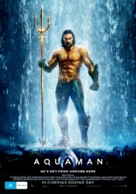 Aquaman - Australian Movie Poster (xs thumbnail)