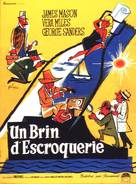 A Touch of Larceny - French Movie Poster (xs thumbnail)