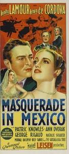 Masquerade in Mexico - Australian Movie Poster (xs thumbnail)