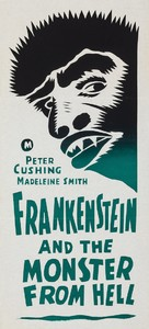 Frankenstein and the Monster from Hell - Australian Movie Poster (xs thumbnail)