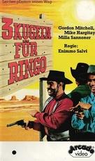 3 colpi di Winchester per Ringo - German VHS movie cover (xs thumbnail)